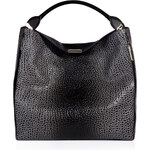 Burberry Shoes & Accessories Large Lindburn Embossed Hobo Bag