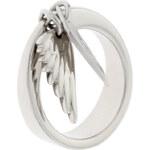 Dámský ocelový prsten s křídly Miss Sixty