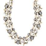 sweet deluxe CORDOBA Halskette antikgold/crystal/black diamond