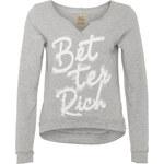 BETTER RICH Sweatshirt CREW grau