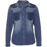 mavi Jeansbluse JASMINE blau