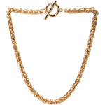 FOREVER21 Wheat Chain Toggle Necklace