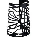 ASOS Graphic Cuff Bracelet - Black
