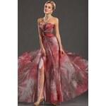 Elegantní šaty bez ramínek eDressit