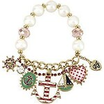 Betsey Johnson náramek Anchor