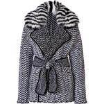 Fendi Wool-Cashmere Jacket with Fox Fur Collar