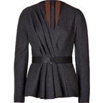 Fendi Wool Pleated Front Jacket