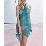 LightInTheBox Women's Stylish Colorful Printing Chiffon Beach Towel Cover-up