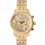 Michael Kors Gold & Crystal Chronograph Watch