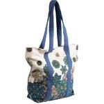 Namaste dámská kabelka z plátna a kůže