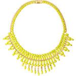 ASOS Opaque Stone Bib Necklace