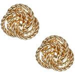 Topshop Seilknoten-Ohrstecker - Gold