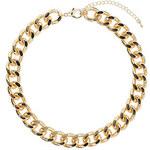 Topshop Großgliedrige Collierkette - Gold