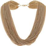 Topshop Mehrreihige Halskette - Gold