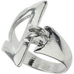 Topshop Offener Dreiecksring - Silber