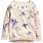 H&M Sweatshirt with a print