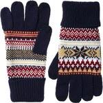 ASOS Touchscreen Glove With Snowflake Fairisle