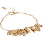 ASOS Leaf Charm Bracelet