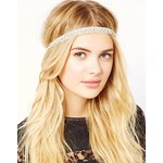Orelia Narrow Diamonte Headband
