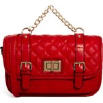 ALDO Perego Red Quilted Across Body Bag