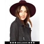 Catarzi Exclusive To ASOS Classic Fedora Hat - Red