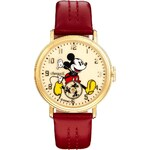 Disney Golden Years Mickey Mouse Rotator Red Watch