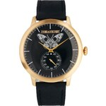 Zadig & Voltaire Synchro Black Moth Watch