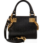 Sophie Hulme Leather Mini Chain Side Shopper