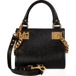 Sophie Hulme Leather Mini Chain Side Shopper