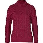 Burberry Brit Cotton Blend Cable Knit Pullover