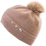 Invuu London Zimní čepice Beanie Beige 13H0443 AKCE