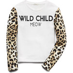FOREVER21 girls Wild Child Sweatshirt (Kids)