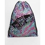 Vans Drawstring Gym Bag in Multi Leopard Print - Multi