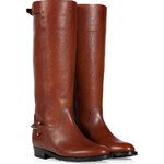 Ralph Lauren Collection Saddle Tumbled Leather Madelyn Boots