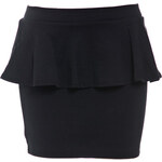 Terranova Mini-skirt with peplum
