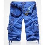 Pánské šortky Waga modré AKCE - modrá