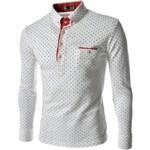 Pánská košile Slim Fit Pinto bílá - bílá