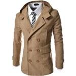 Pánský kabát Lobo béžový AKCE - béžová