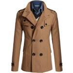Pánský kabát Teguite Béžový - béžová