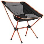 LightInTheBox Portable Folding Camping Stool Chair Seat for Fishing Festival Picnic BBQ Beach with Bag