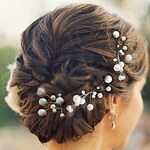 LightInTheBox Nice Five Pieces Pearls Wedding/Party Hairpins