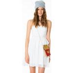 Tally Weijl White Detailed Skater Dress