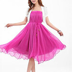 LightInTheBox CIROS Women's High Quality Bohemia Big Swing Beach Long Skirt