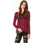 "Tally Weijl Berry ""TOTALLY"" Knitted Jumper-Top"