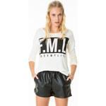"Tally Weijl Beige ""F.M.L"" Knitted Jumper-Top"
