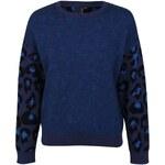 Firetrap Blackseal Leopard Knitted Jumper dámské
