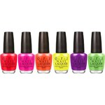 Opi O.P.I Little Bits Of Neon Mini Nail Lacquer Collection - Multi