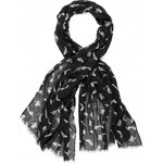 Marks and Spencer M&S Collection Lightweight Folk Bird Print Scarf