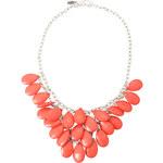 Esprit necklace with coral stones