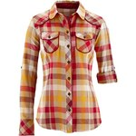 Flanelová košile s dlouhým rukávem bonprix